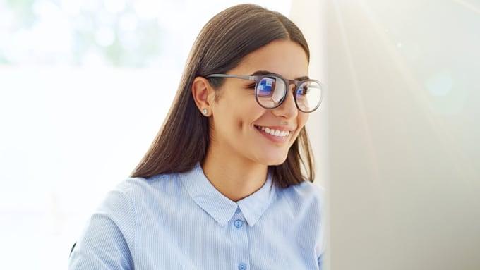 Blaufilter für Brillengläser