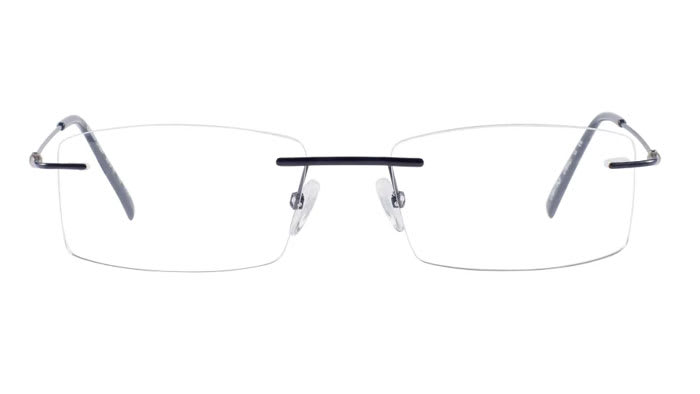 Randlose Brille