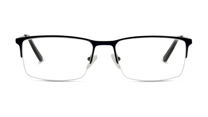 Halbrandbrille