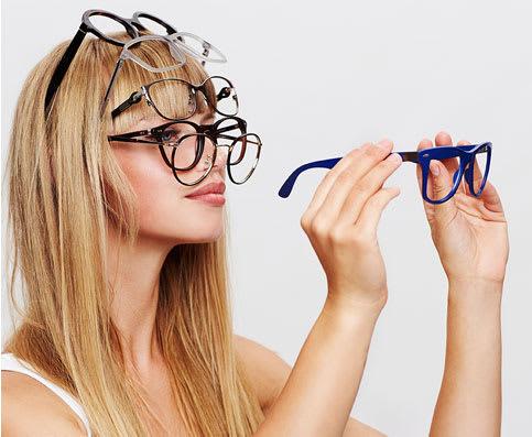 Bei jedem Brillenmodell sind bereits Basisgläser inklusive