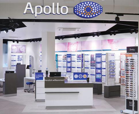 Brillenversicherung in Ihrer Apollo-Filiale abschließen