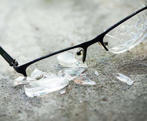 Versicherung für Ihre Brille
