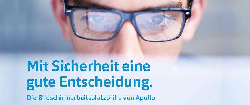 Informationen über Bildschirmarbeitsplatzbrillen für Unternehmen und Arbeitgeber