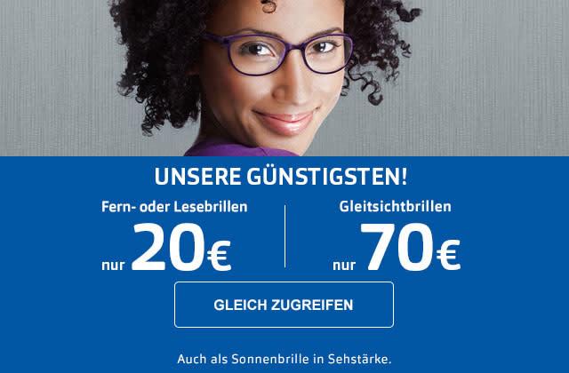 Brille komplett schon ab 20€
