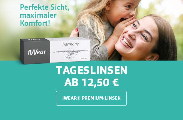 iWear® Tageslinsen schon am 12,50€