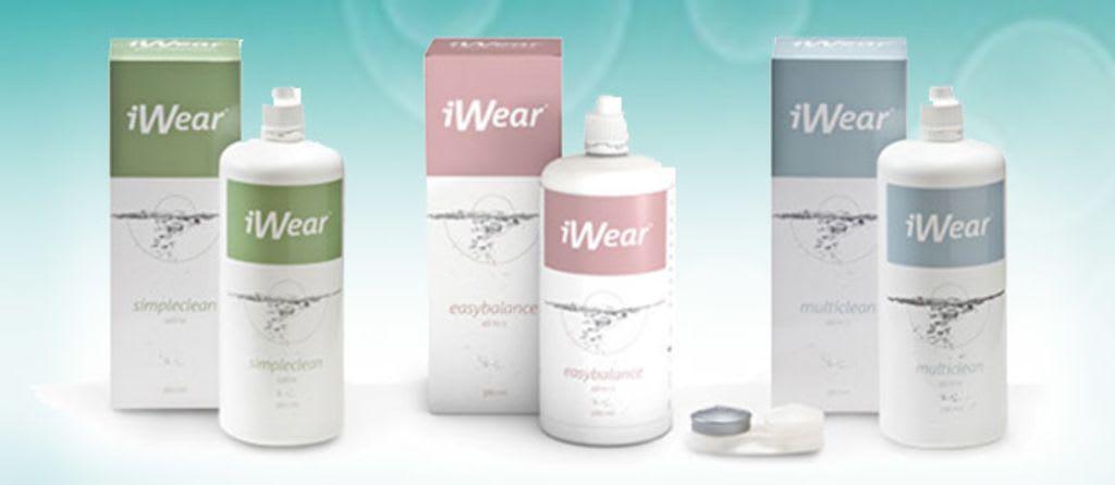 iWear® Kontaktlinsen-Pflegemittel