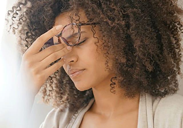 Kopfschmerzen durch Sehschwäche