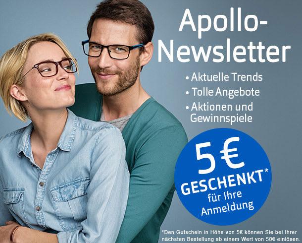 Tolle Angebote erhalten mit dem Apollo-Newsletter