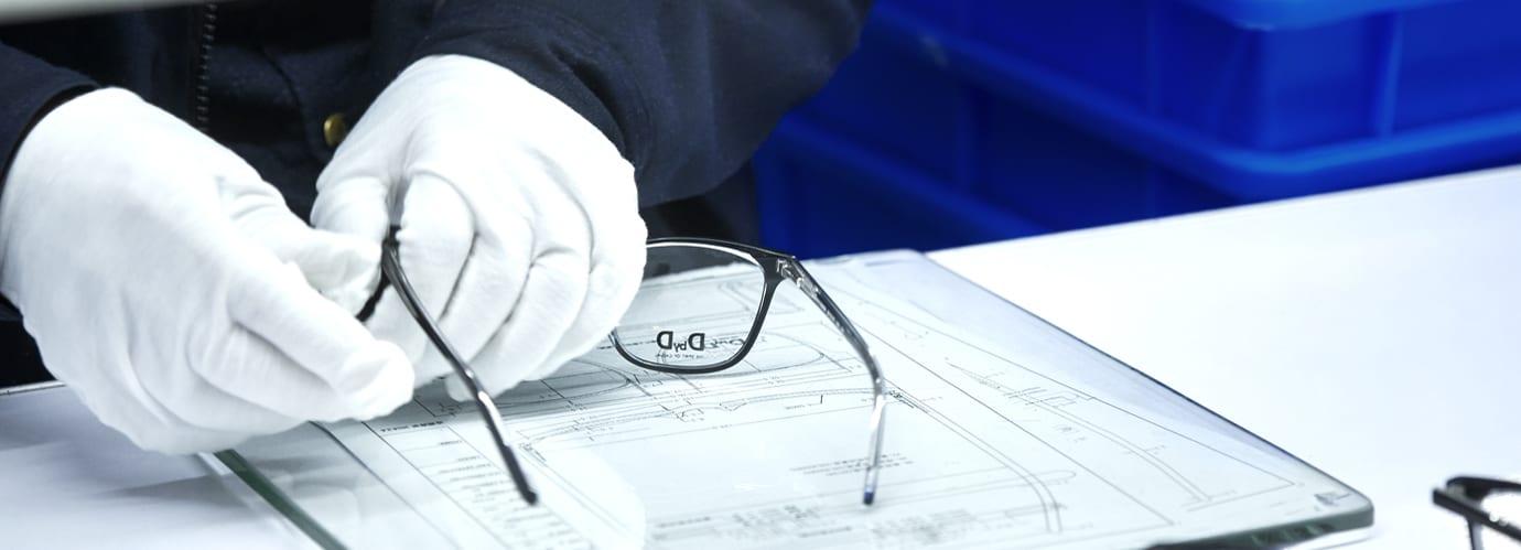 D-Brillenherstellung