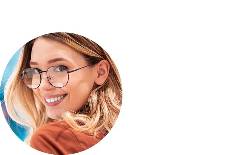 Frau-Brille