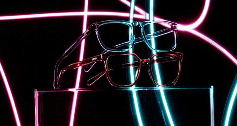 Transparente-Brillen