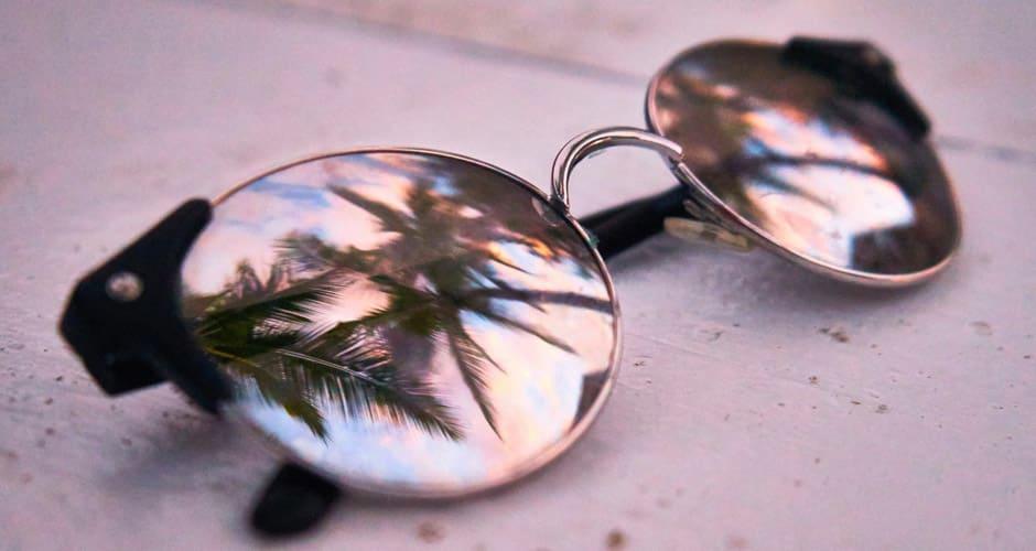 Verspiegelte-Sonnenbrillen
