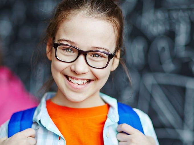 Brillen für Mädchen