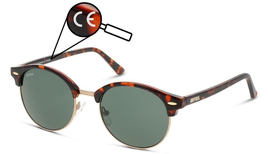 Sonnenbrille CE Zeichen