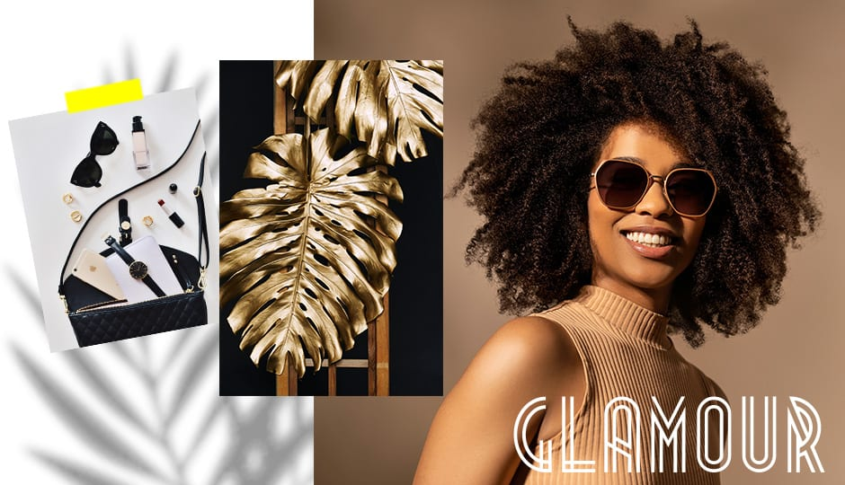 D-Glamour-Sonnenbrille