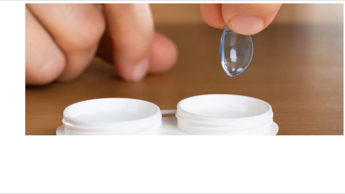 Kontaktlinsen aufbewahren