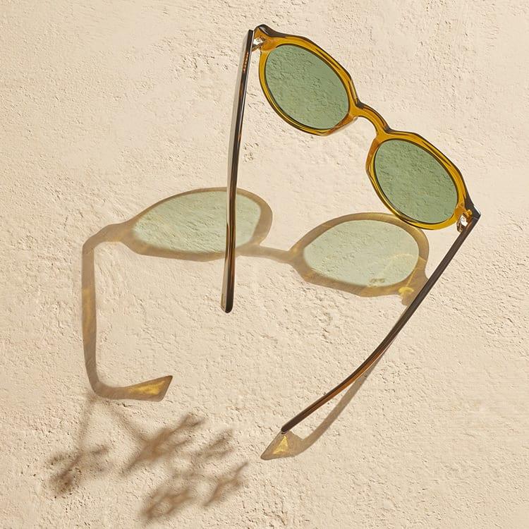 Sonnenbrille-Schatten-Square
