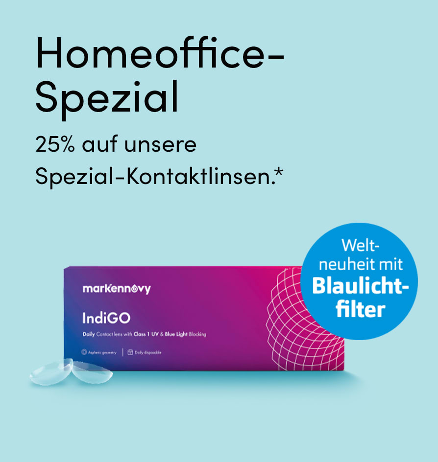 Homeoffice Kontaktlinsen-Spezial