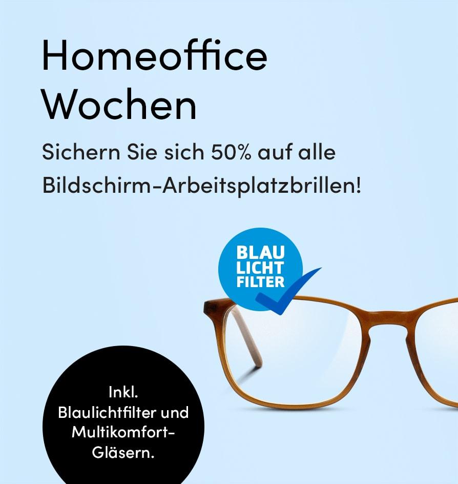 Bildschirmarbeitsplatz-Brillen-Aktionsübersicht
