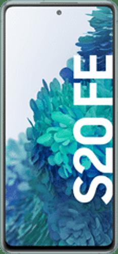 Samsung Galaxy S20 FE SM-G780F Cloud Mint Front Logoscreen RGB