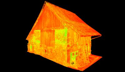 3D-VERMESSUNG SCHEUNE 3D Model