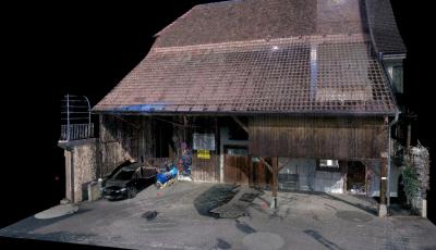 3D LASERSCANNING: 3D BIM MODELL (ARCHICAD) 3D Model