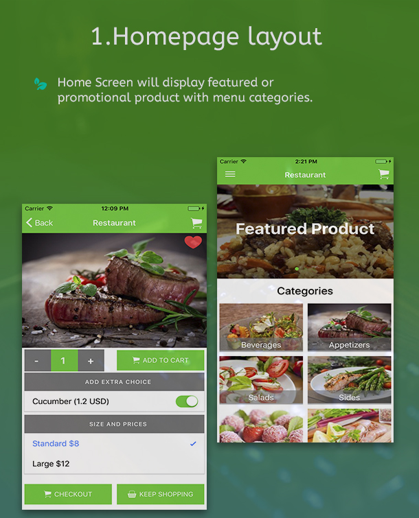 Ionic 3 Restaurant app with Firebase - 5