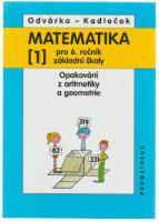 Matematika pro 6. ročník ZŠ, 1. díl