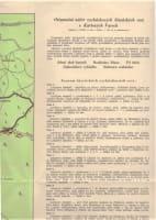 Orientační náčrt vycházkových lázeňských cest v Karlových Varech