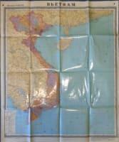 Nástěnná mapa Vietnamu 1 : 2 000 000