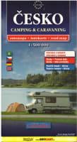 Česko - Camping a caravaning 1:500 000