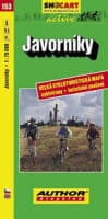 Javorníky 1:75000 cyklomapa č.153