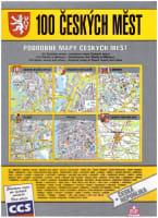 100 českých měst podrobné mapy