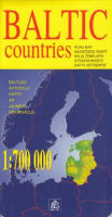Baltic states 1:700 000 (road map)