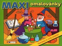 Maxi omalovánky - vymaluj si svůj svět