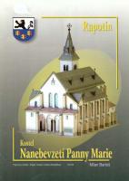 Rapotín Kostel nanebevzetí Panny Marie (vystřihovací model)