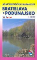 Atlas turistických zaujímavostí Bratislava Podunajsko