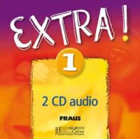 Extra! 1 francouzština 2 CD audio