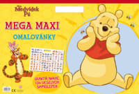 Medvídek Pú Mega maxi omalovánky