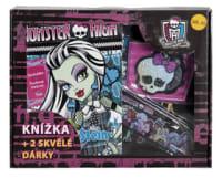 Monster High Knížka + 2 skvělé dárky