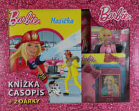 Kufřík Barbie hasička