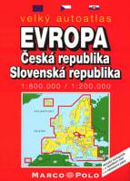 Velký autoatlas Evropa+ČR+SR
