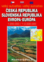 Velký autoatlas Česká republika, Slovenská republika, Evropa
