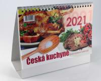 Kalendář Česká kuchyně 2021