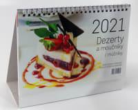 Kalendář Dezerty a moučníky 2021