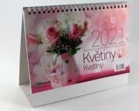 Kalendář Květiny 2021