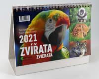 Kalendář Zvířata 2021