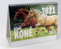 Koně kalendář 2021