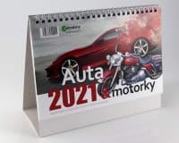 Auta a motorky kalendář 2021