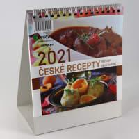 České recepty kalendář 2021